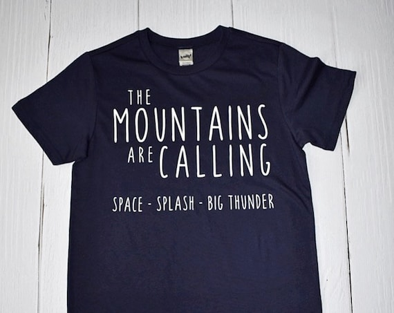 The Disney Mountains Are Calling - Clearance Shirt / Splash Mountain /Space Mountain/ Disney Shirt/ Disney Vacation /Disneyland/Disney World