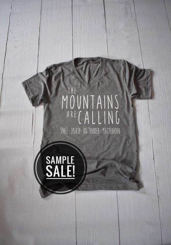 Sample Sale - Disneyland Mountains Are Calling - Disney - Splash Mountain - Space Mountain - Big Thunder Mountain - Matterhorn - Vacation
