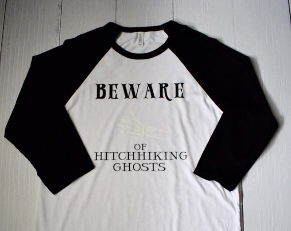 Beware of Hitchhiking Ghosts - Clearance Shirt / Haunted Mansion / Halloween / Disney Shirt / Disney Vacation /Disneyland/Disney World