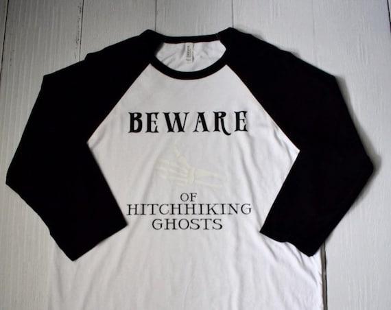 Beware of Hitchhiking Ghosts - Clearance Shirt / Haunted Mansion / Halloween / Disney Shirt / Disney Vacation /Disneyland/Disney World