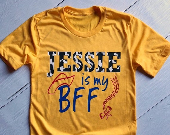 Jessie is my BFF / Toy Story / Disney / Pixar / Woody / Cowgirl/ Disney Vacation / Toy Story Land / Under 30 / Toy Story 4 / Bo Peep / Andy
