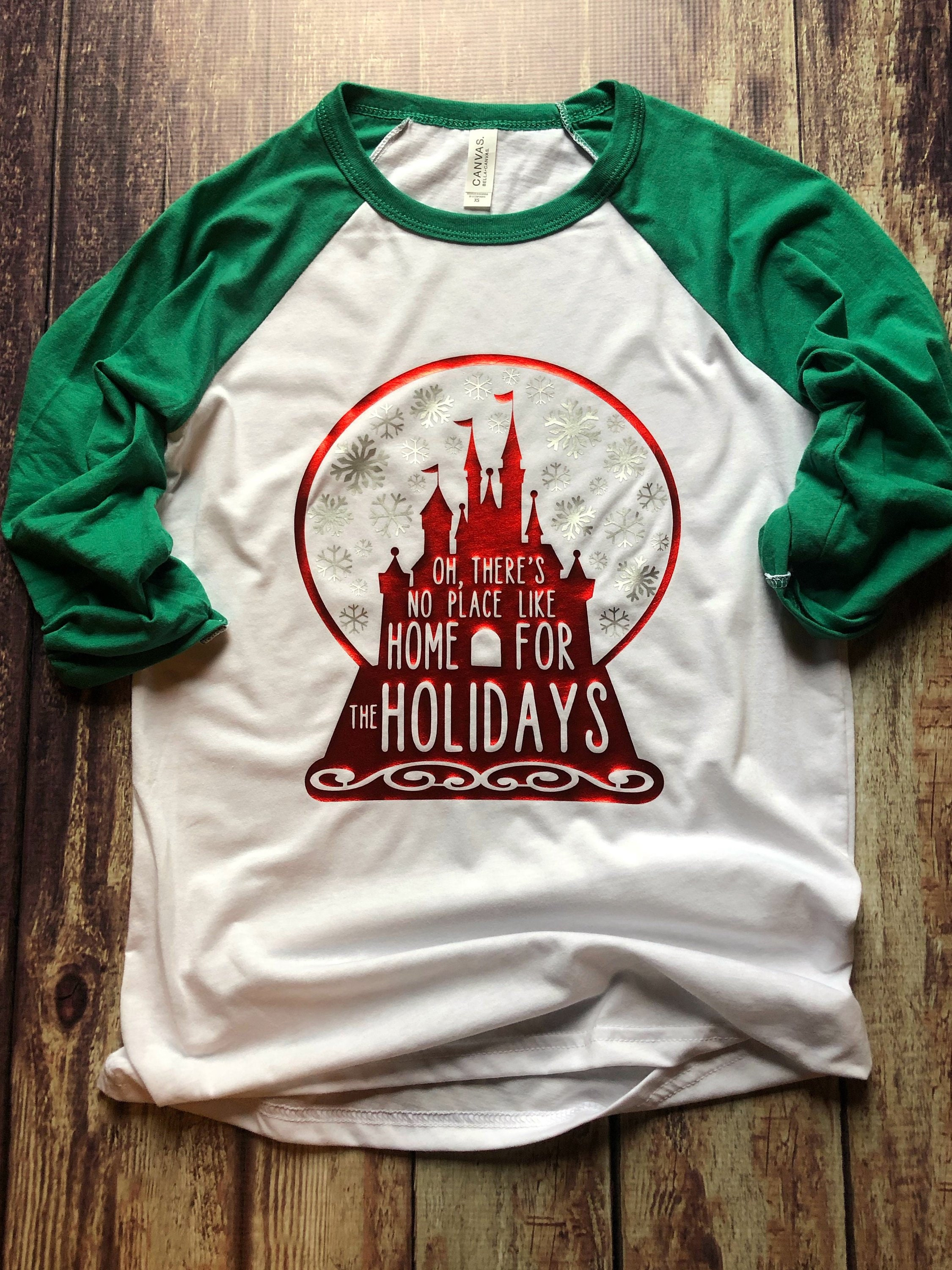 Women/'s Disney Shirt I/'ll Be Home For Christmas Disney Christmas Shirt Mickey/'s Very Merry Christmas Party