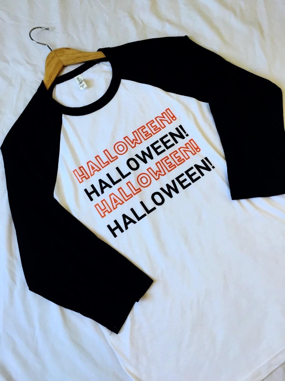 halloween 34 sleeve raglan halloween shirt nightmare before christmas mickeys not so scary shirt men women disney shirt halloween