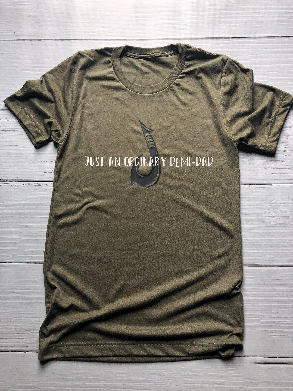 44e6235d Just An Ordinary Demi-Dad Shirt / Men's Moana Shirt / Men's Disney Shirt /  Disney Shirt / Adult Disney Shirt / Father's Day / Moana / Maui