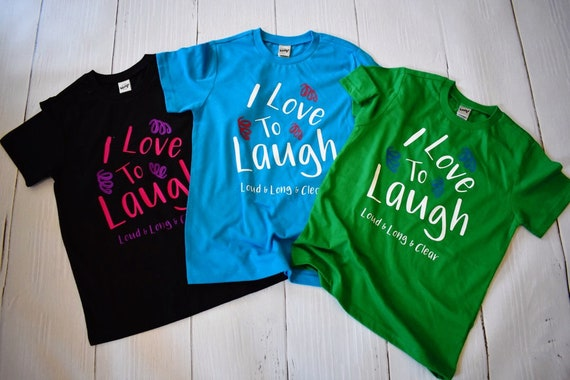 I Love To Laugh Kids Shirt / Disney Kids Shirt / Disney Girl Shirt / Mary Poppins / Disney Gift Under 30 / Laughter / Disney Vacation / Girl