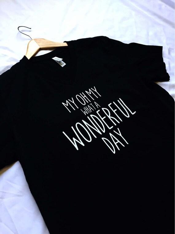 My Oh My What A Wonderful Day Shirt / Splash Mountain / Disney Shirt Women / Disney Shirt Men / Disney Gift Under 30 / Zip A Dee Doo Dah