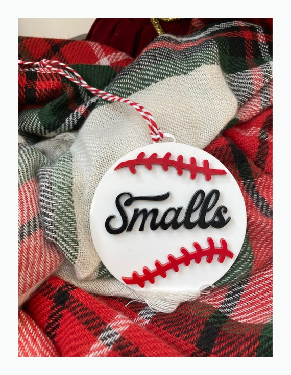 Smalls Baseball Christmas Ornament - The Sandlot