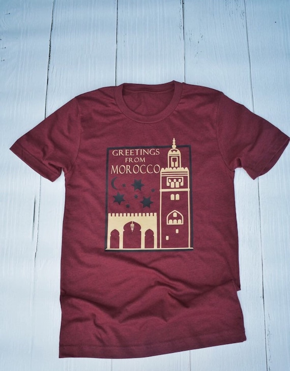 Greetings From Morocco - Epcot World Showcase / Disney Shirt / Epcot / Travel / Postcard / Disney Vacation / Disney World / World Traveler