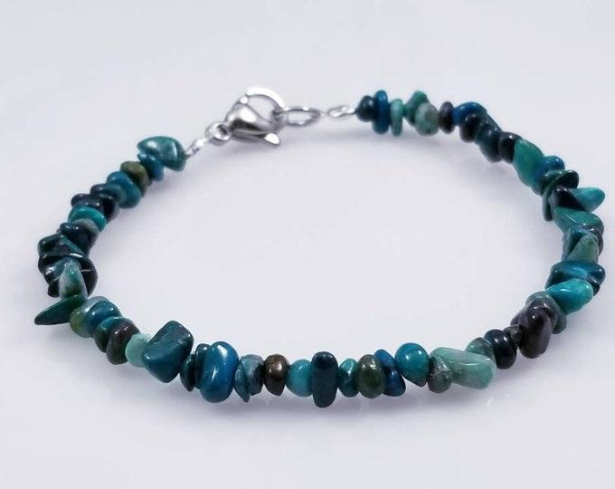 Chrysocolla Gem Bracelets/ Empowering Crystals