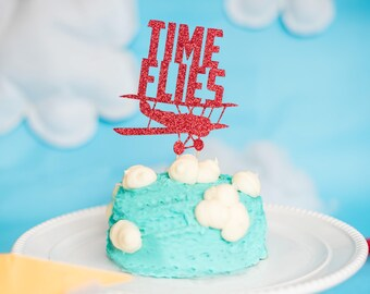 Airplane Cake Topper Etsy
