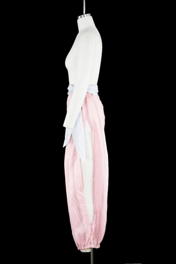 Vintage 1940s Belly Dancer Costume - Harem - Pink… - image 4