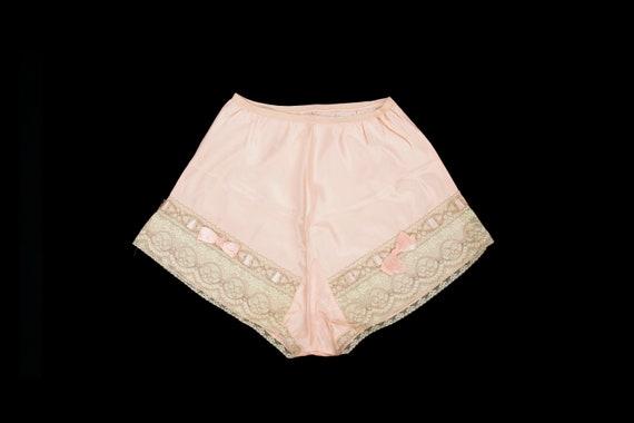 Vintage 1930's Rayon Tap Shorts - Panties Lingerie