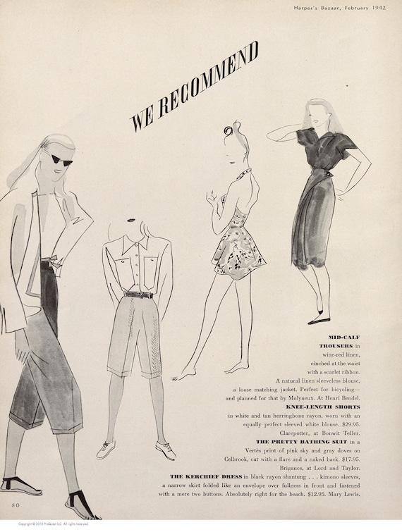 Vintage RARE 1940's Tom Brigance Swim Suit - Marc… - image 6