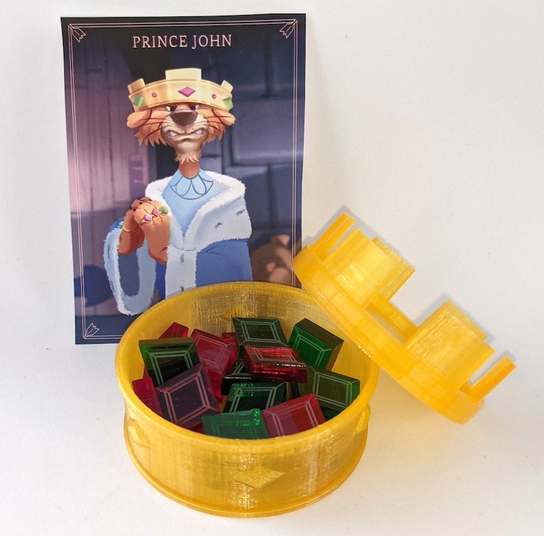 Prince John's Upgrade for Villainous (20 tokens + container)