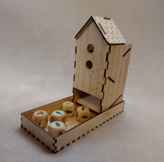 New England Bird House Nesting Box Engraved with Free Wooden message plate,