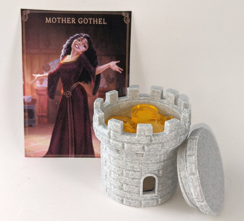 Mother Gothel's Upgrade for Villainous (12 tokens + container)