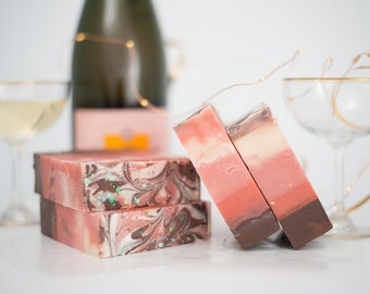 Made to Order Champagne Kisses Soap