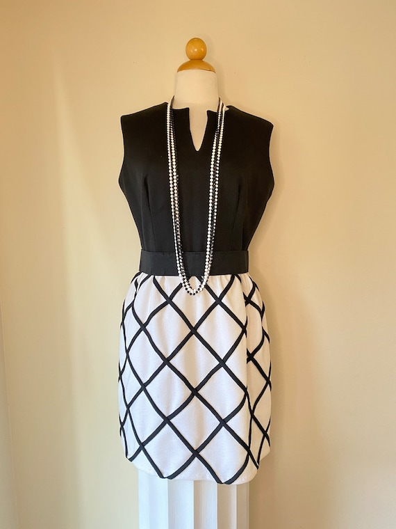 60s Vintage Mod POP Gogo Dress