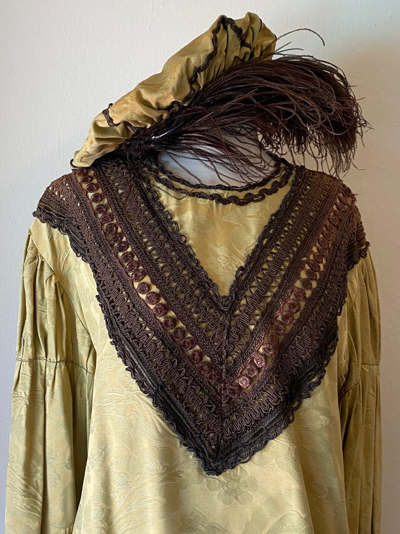 Vintage Theatre Costume Tunic and Muffin Cap Medie