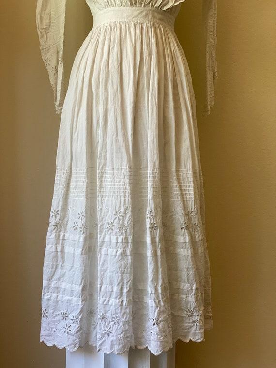 Antique Edwardian Cotton Summertime Day Dress Vin… - image 10