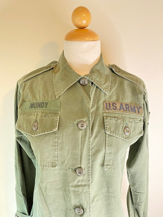 50s Female Army Officers Utility Shirt