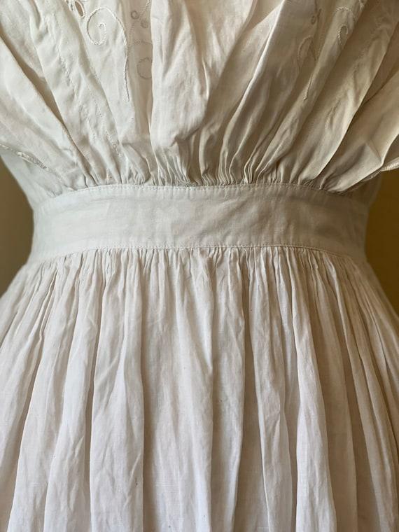 Antique Edwardian Cotton Summertime Day Dress Vin… - image 7