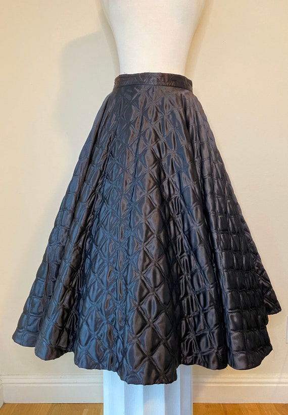 50s Vintage Full circle Skirt 27 in