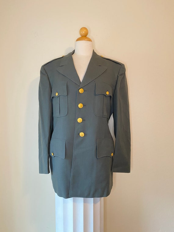 70s US Army Military Dress Jacket 40S