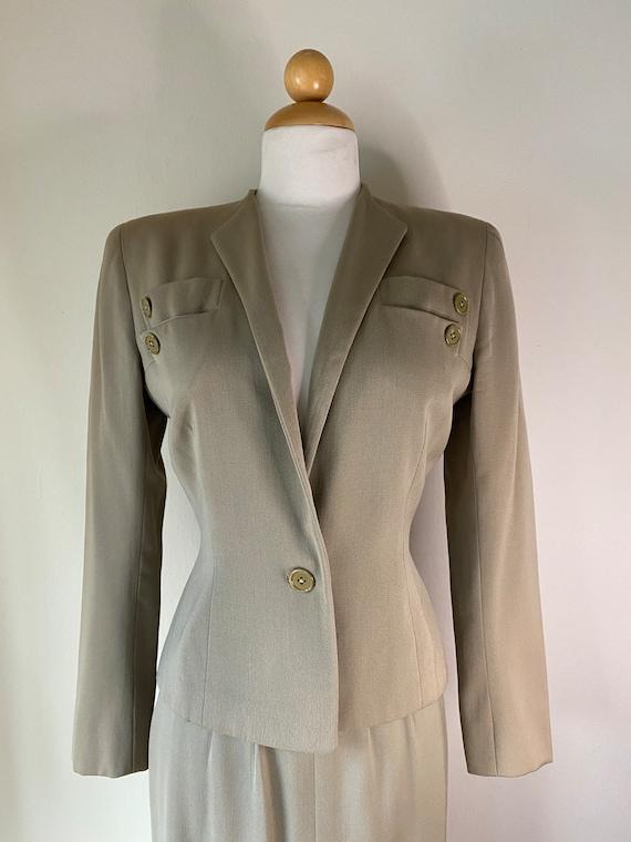 1930s Vintage Suit Sm Wool Gabardine