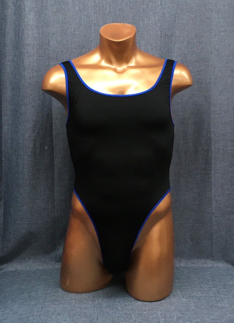 Guyleto Black and Cobalt Male Cut American Made classic image 0