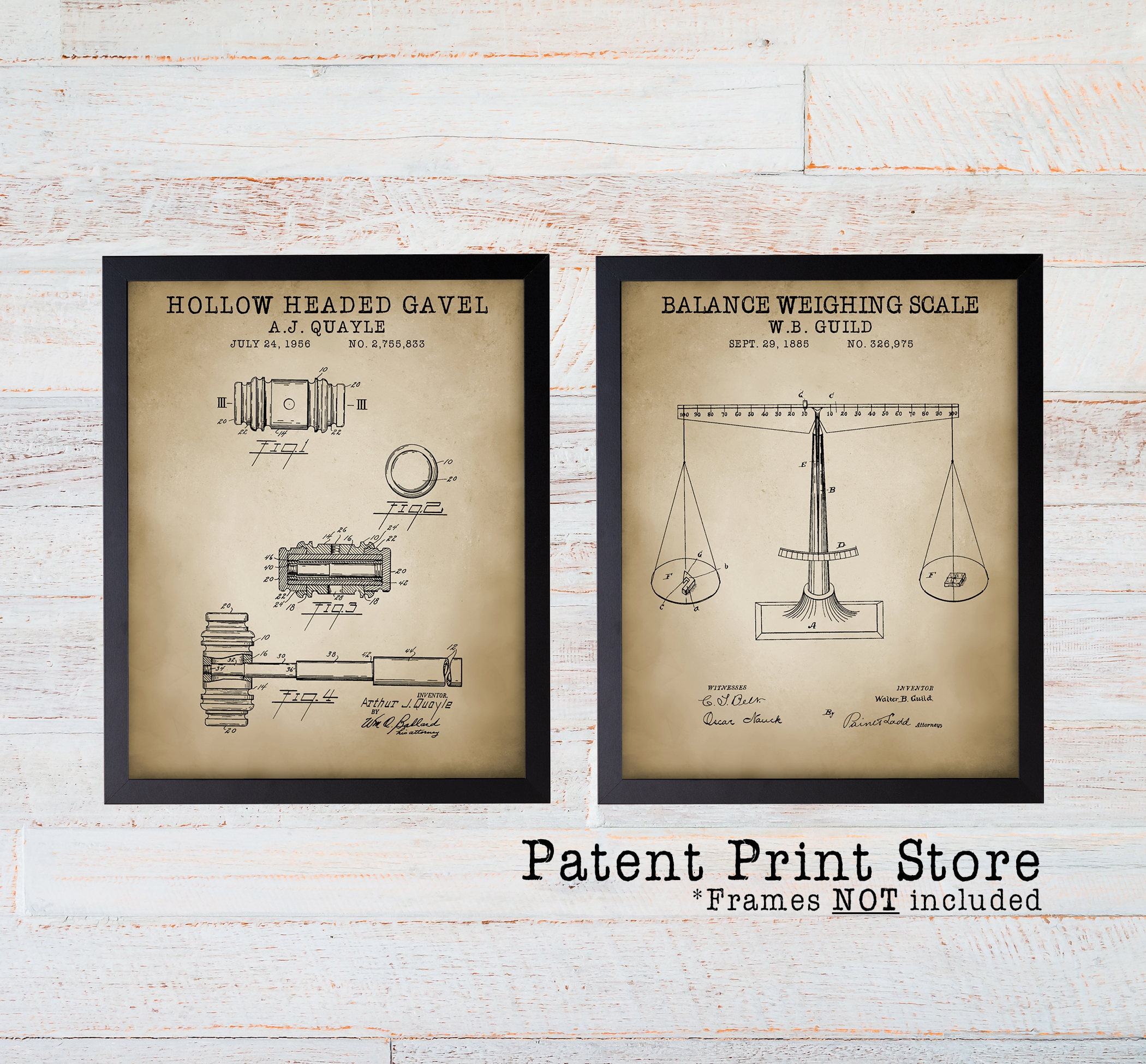 Lawyer Patent Art. Attorney Office Decor Prints. Lady Justice. Law. Lawyer.  Judge. Court. Law Student Gift. Attorney Patent Print Set. 235