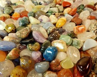 Tumbled Crystals Gemstones Mix Rocks Stones Grade A Natural- Pick Weight