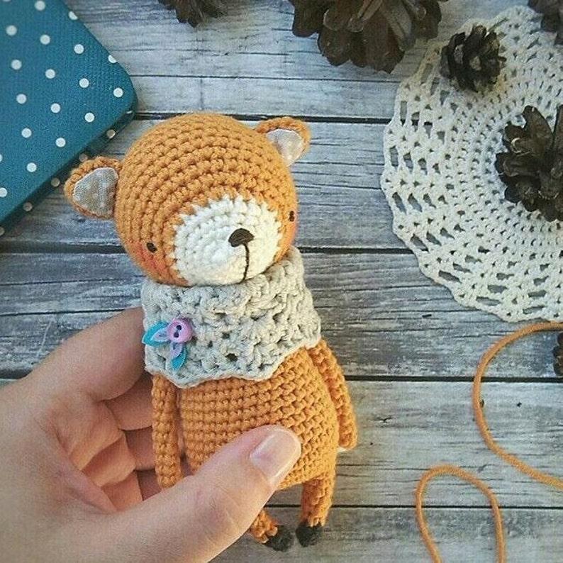 FOX crochet pattern image 0