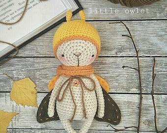 MOTH crochet pattern