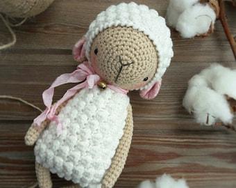 LAMB crochet pattern