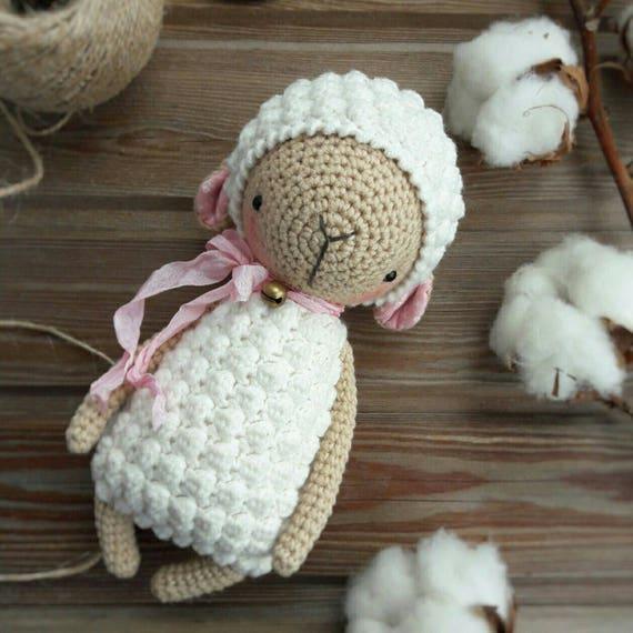 Lamb Crochet Pattern Etsy