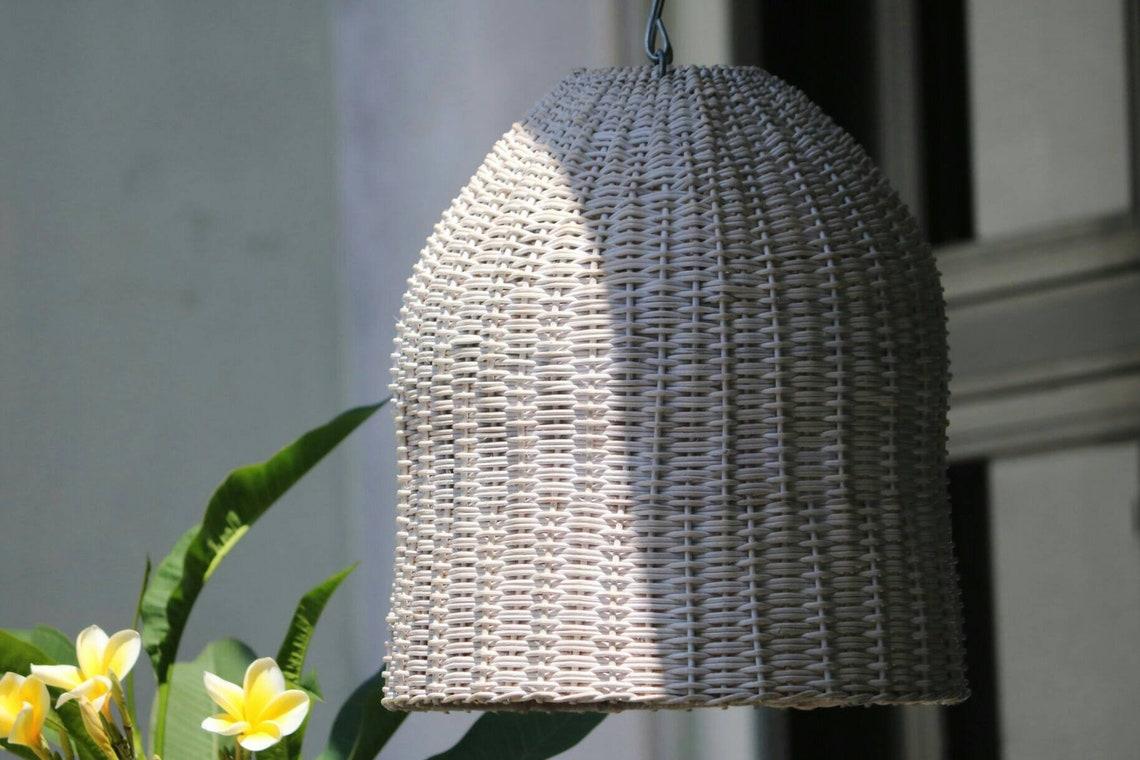 Santa Catalina rattan pendant light 2020 interior design trending  my bali living - Eclairage