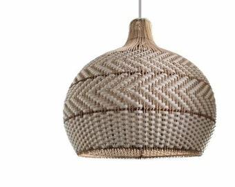 Serena White Rattan Pendant Light Drop Pendants Interior Design Trends