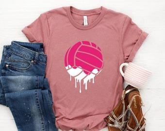82dd20bb Dripping Volleyball ∙ Volleyball T-shirt ∙ Love Volleyball ∙ Vball Tee ∙ Volleyball  Team Shirt ∙ Bump, Set, Spike ∙ Unisex Volleyball shirt