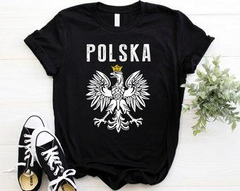 7893e7b2 Poland Shirt ∙ Polish Eagle ∙ Coat Of Arms Of Poland ∙ Polska ∙ Polska T- shirt ∙ Patriotic Polish Heritage Shirt ∙ Softstyle Unisex Shirt