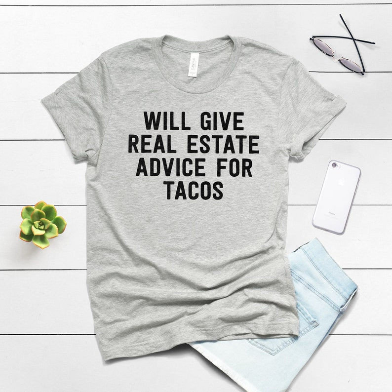 ecc5723cb Real Estate Agent Gift Realtor Gift Real Estate Shirt t