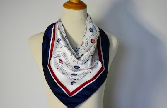 vintage | neck | scarf | bandana | novelty | touri