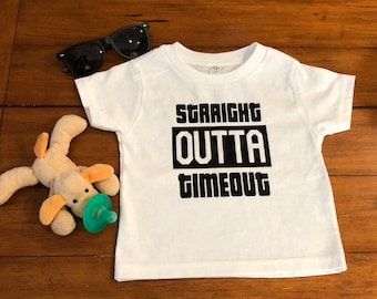 Straight Outta Timeout Onesie