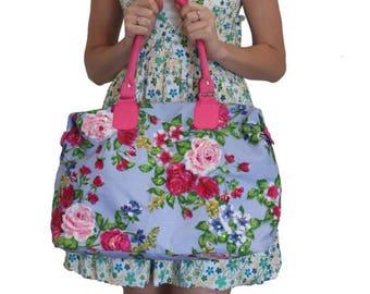 573a3f93870151 Floral tote bag