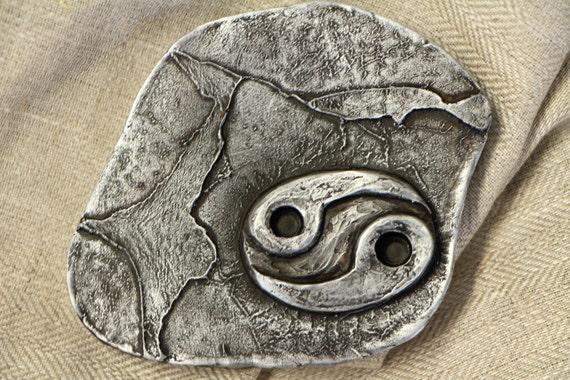 Simbolo di cancro oroscopo segno zodiacale piccola scultura etsy