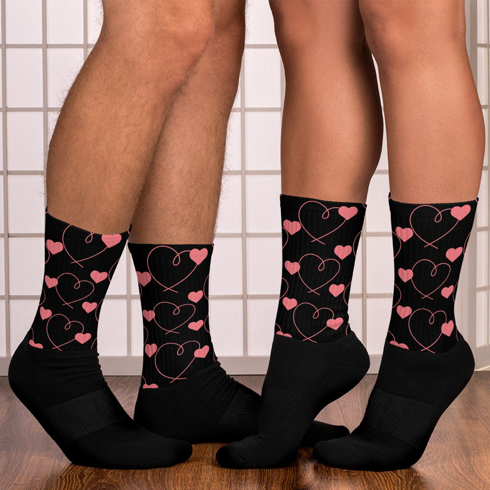 Heart Socks for Men Page Two