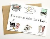 Personalized Valentine's Day Card, Valentine's Day Card for Boyfriend, Custom Valentine's Day Card, Funny Valentine's Day Card, Valentine