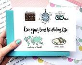 Printable Custom Card,Printable Friend Birthday Card,Printable Custom Birthday Card,Printable Funny Birthday Card,Printable Greeting Card