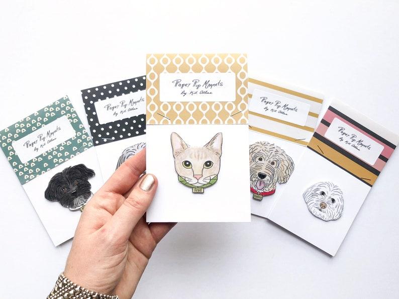 Custom Pet Magnet Custom Dog Lover Gift Funny Dog Lover image 0