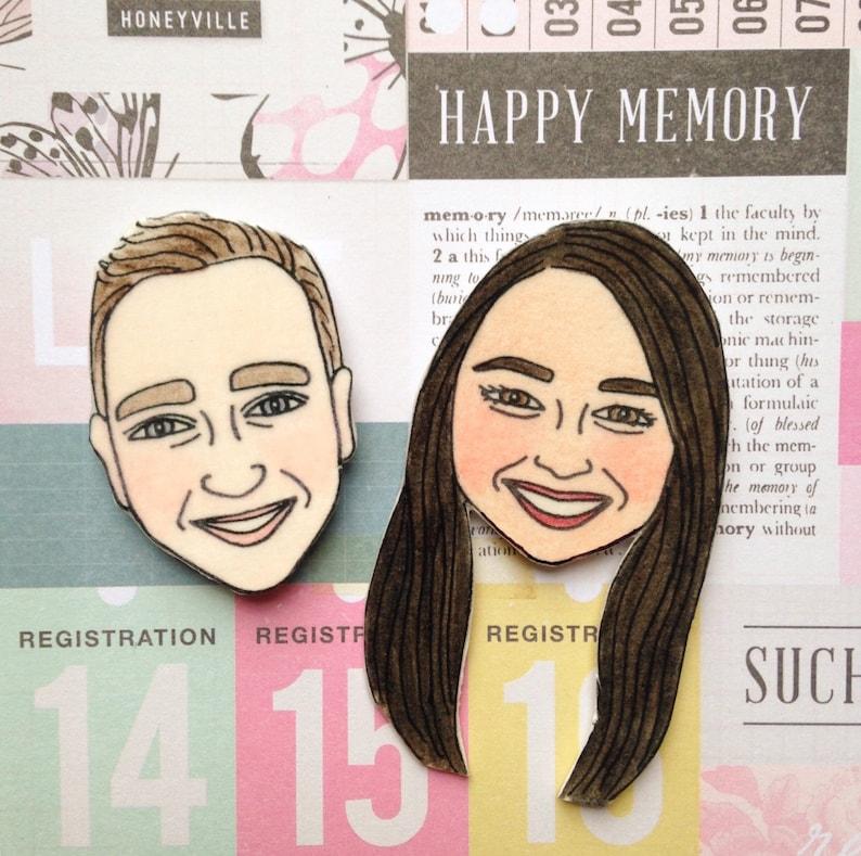 Personalized Magnets Custom Wedding Gift Funny Wedding Gift Etsy
